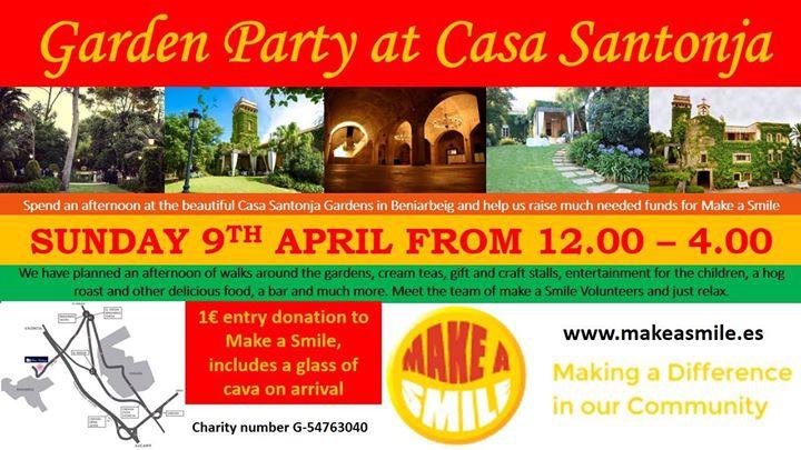 Garden Party at Casa Santonja