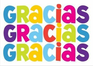 'Gracias' end season GRATEFUL PARTY