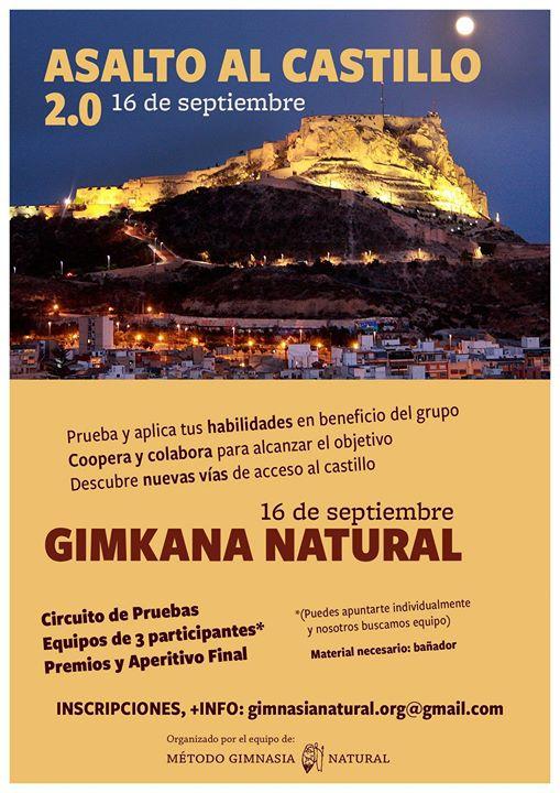 """Gymkana Natural """"Asalto al Castillo"""""""