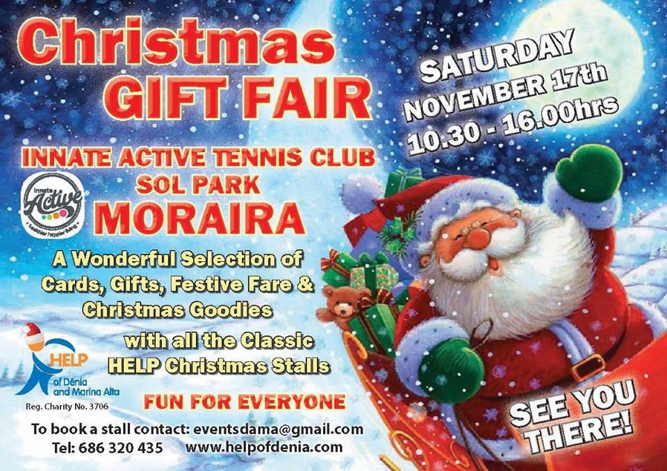 HELP Christmas Fair in Moraira