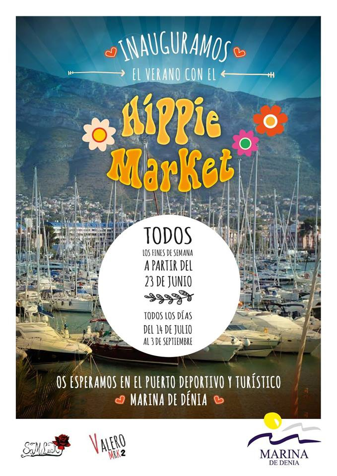 Hippie Market in Denia Marina
