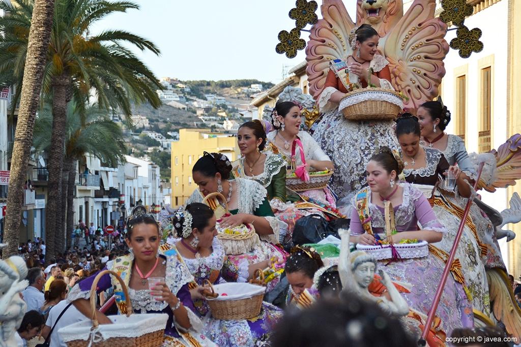 Hogueras of San Juan in Javea
