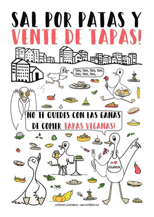 I Ruta Tapeo Vegano Alicante ¡Sal por patas y vente de tapas!