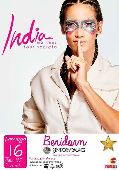 India Martínez presenta en #Benidorm Palace su nueva gira