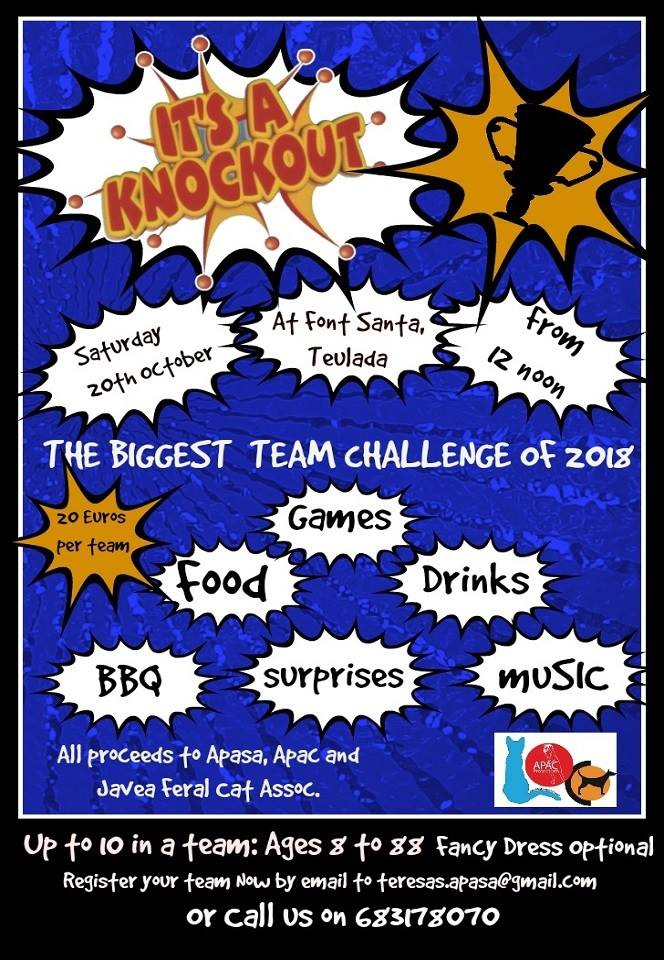 It's A Knockout Challenge in Teulada