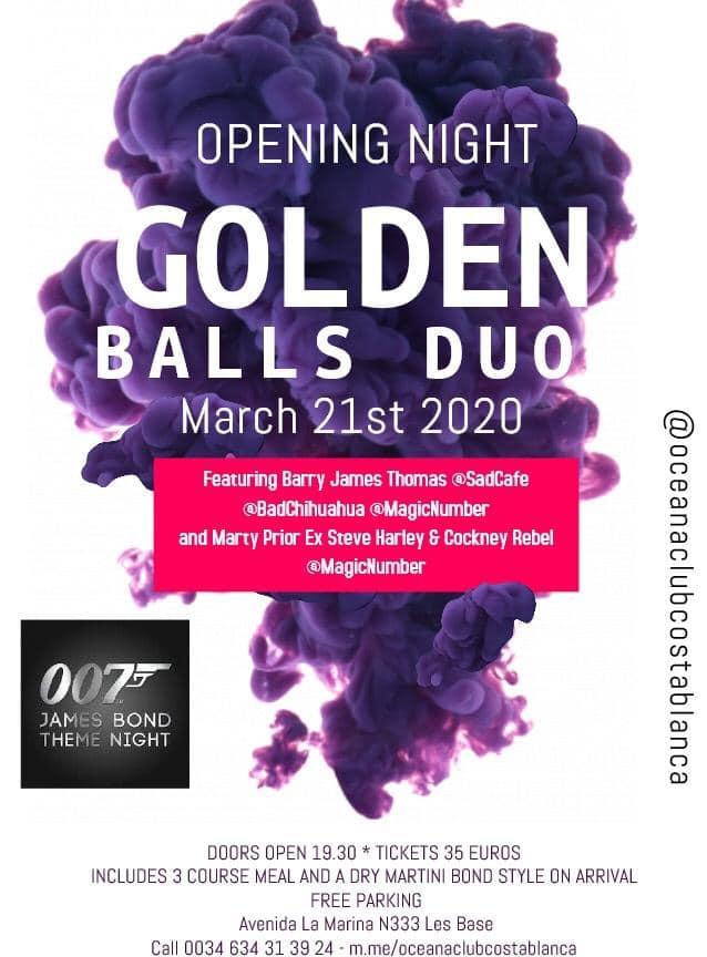 James Bond Theme Night!