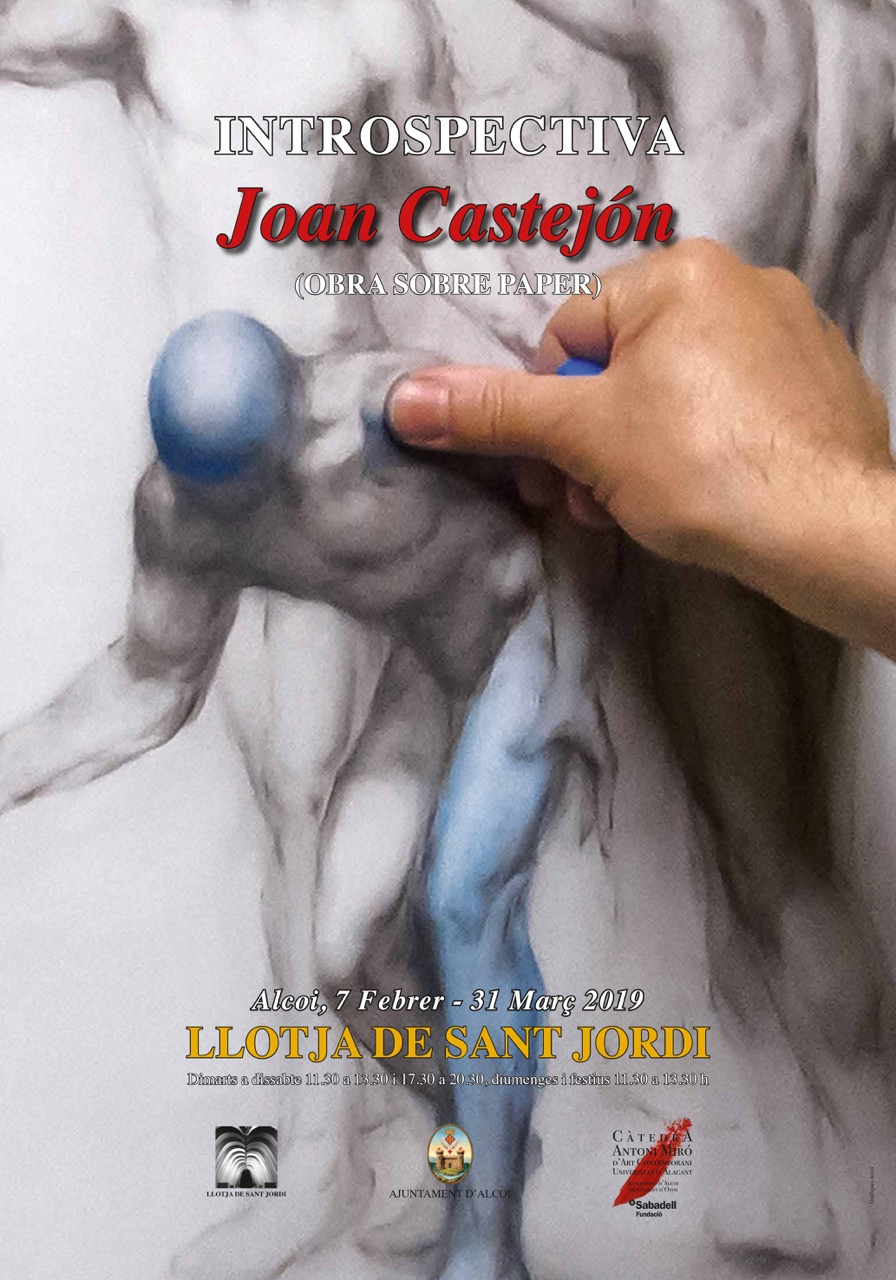 Joan Castejon Art Exhibition in Alcoy