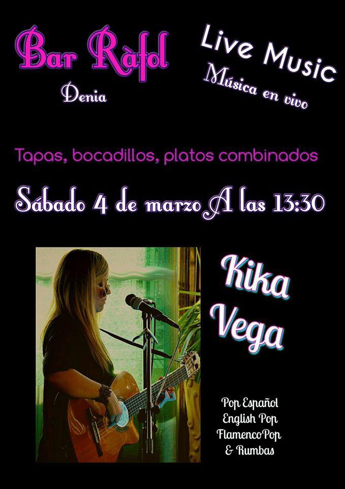 Kika Vega @ Bar Rafol