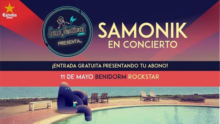 Low Festival presenta a Samonik en Benidorm