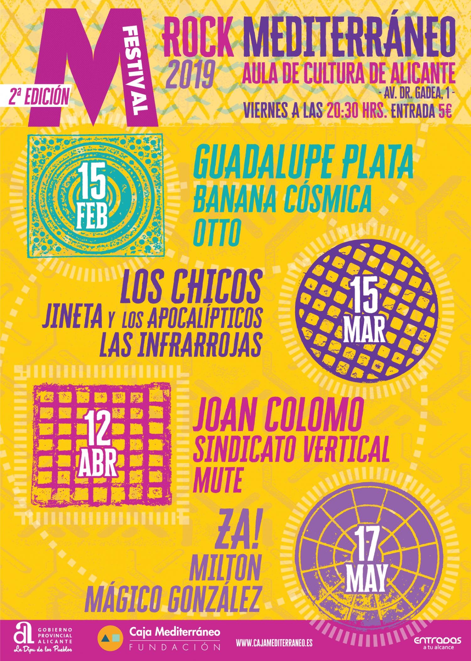 M Festival de Rock Mediterráneo in Alicante