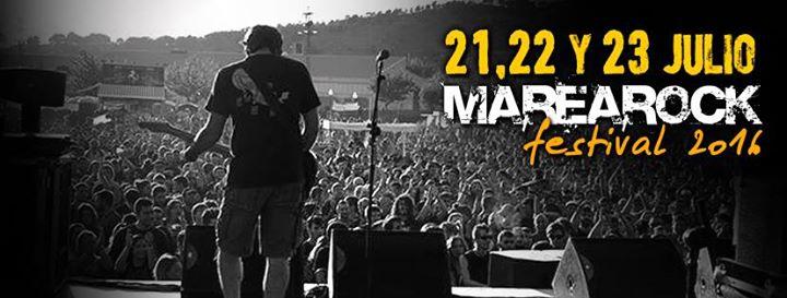 Marearock Festival 2016 - Alicante - (21, 22 y 23 de Julio)