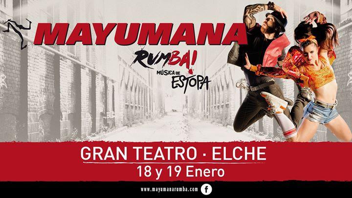 Mayumana llega a Elche