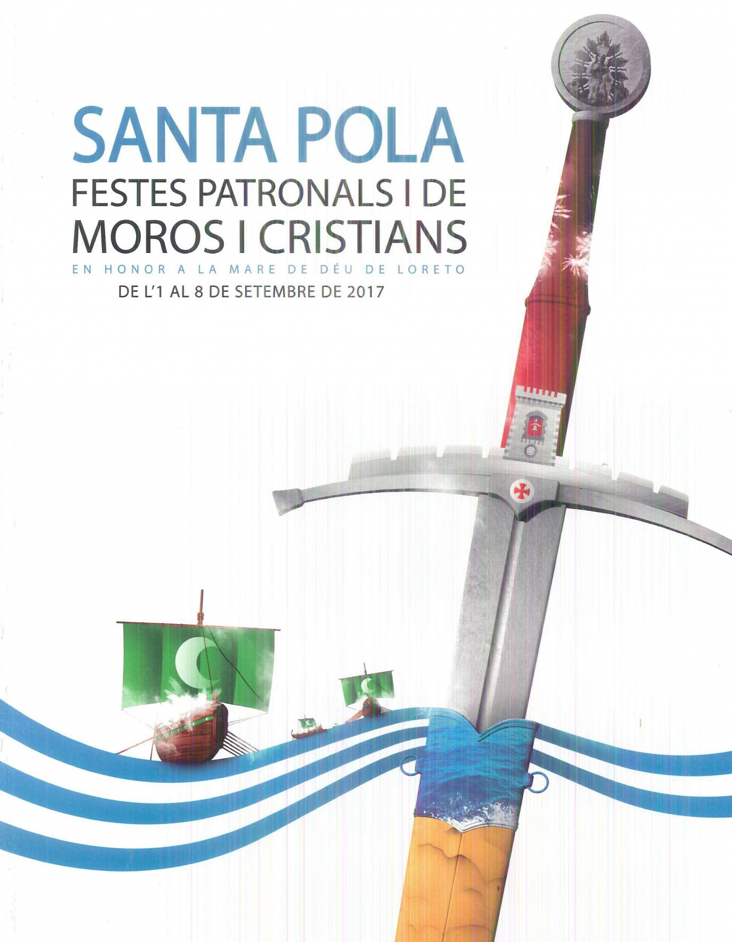 Moors and Christians in Santa Pola