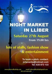 Night market in Lliber
