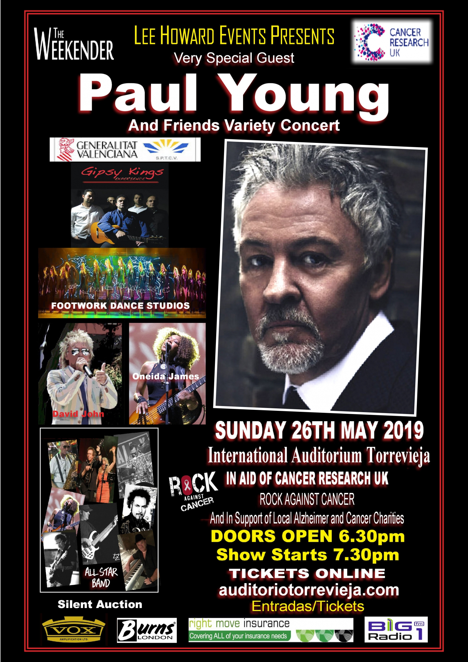 Paul Young In Torrevieja