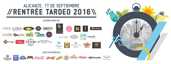 Rentrée 2016 | Tardeo Alicante