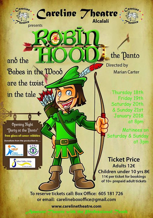 Robin Hood the Panto