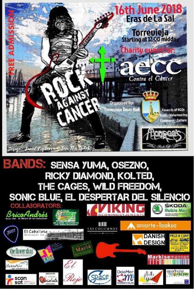 Rock Against Cancer 2018 in Torrevieja