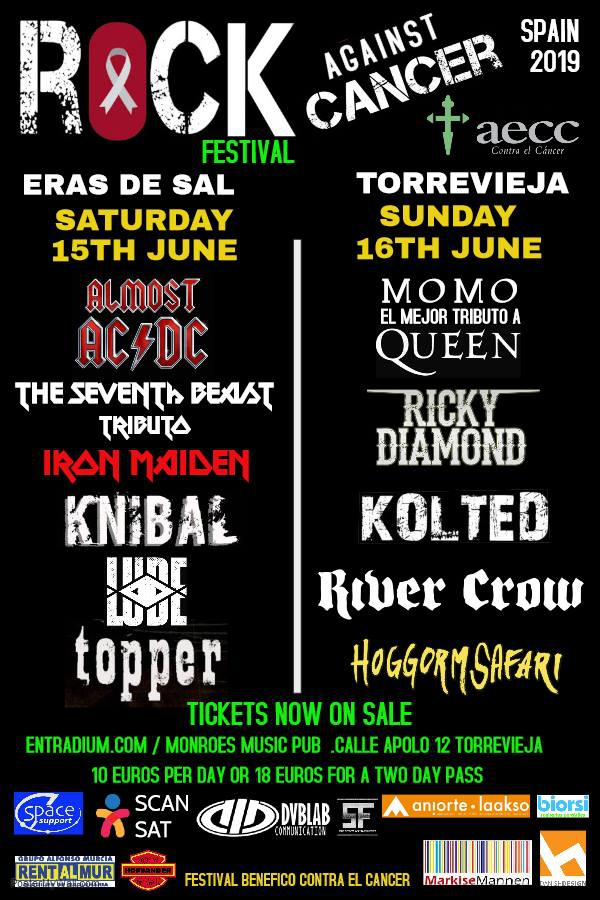 Rock Against Cancer 2019 in Torrevieja