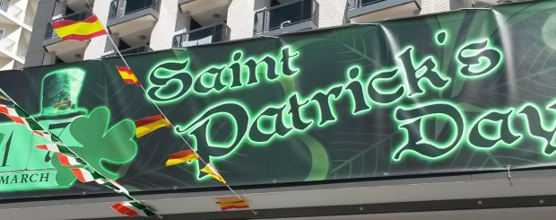 St Patrick's Day Benidorm 2020