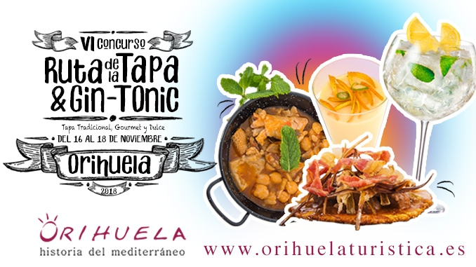Tapas and Gin-Tonic Trail in Orihuela