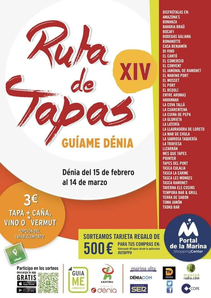 Tapas Route in Denia
