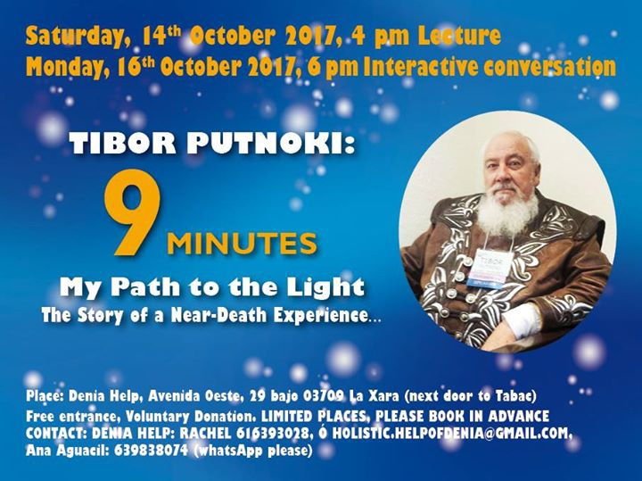 Tibor Putnoki: 9 Minutes, My Path to the Light