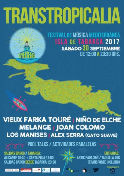 Transtropicalia music festival in Tabarca