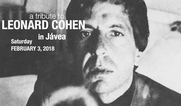 Tribute to Leonard Cohen in Jávea