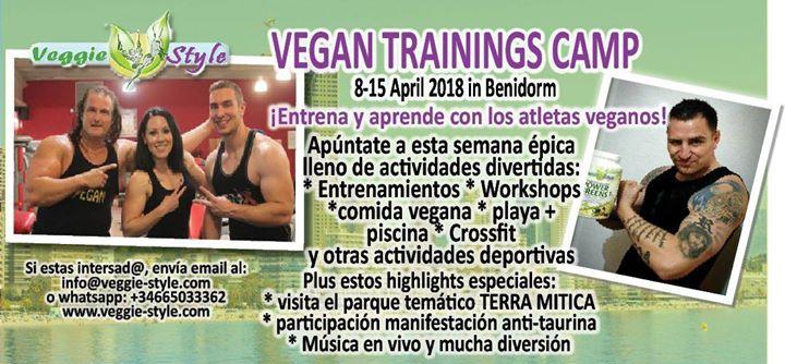 Vegan Training Camp