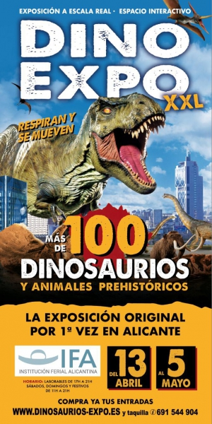 Dino Expo in Alicante