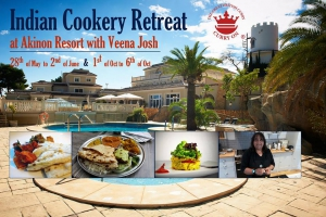 Indian Cookery Retreat at Akinon Resort