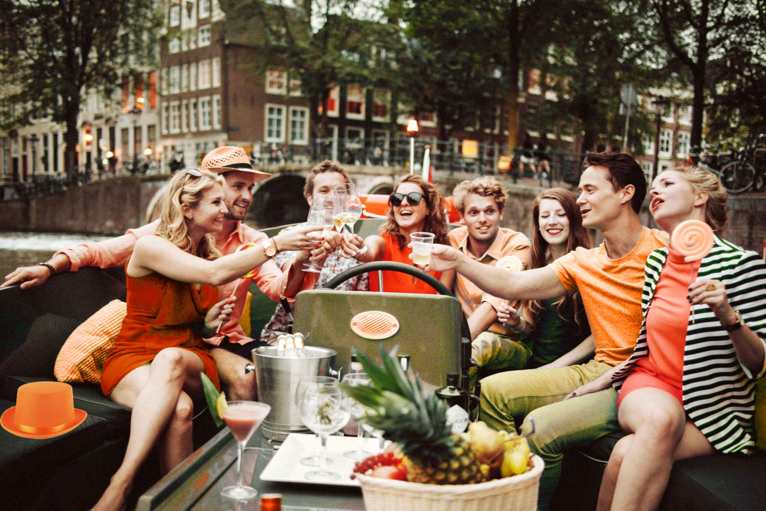 1.5-Hour King's Day Canal Cruise