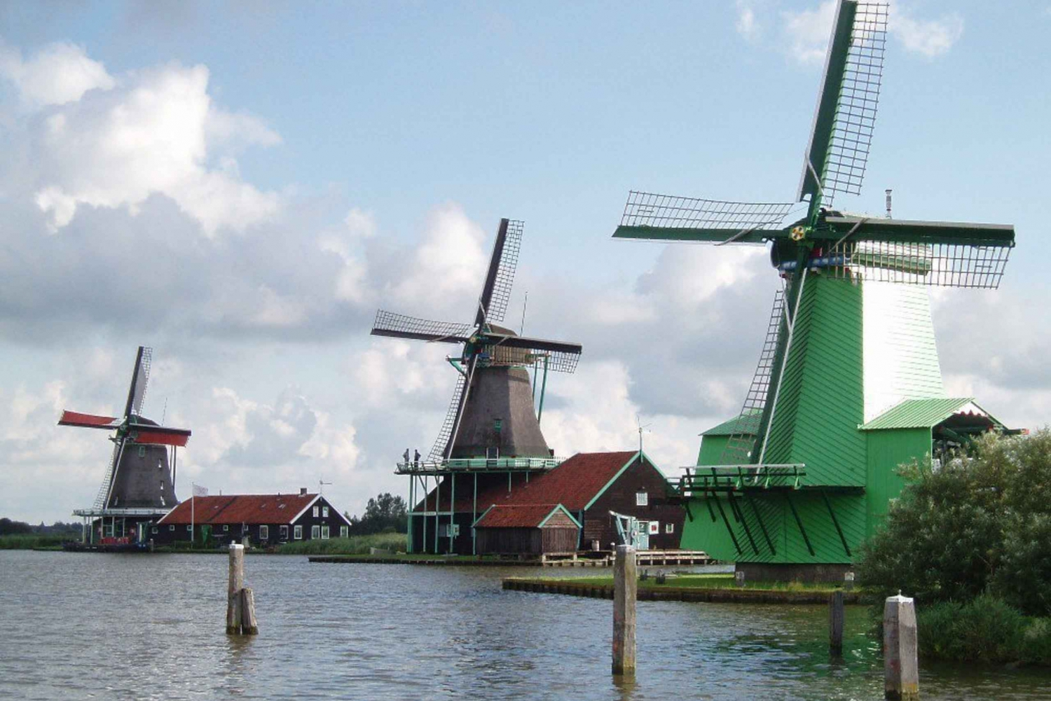 3-Hour Zanse Schaans Windmills Tour w/ Guide