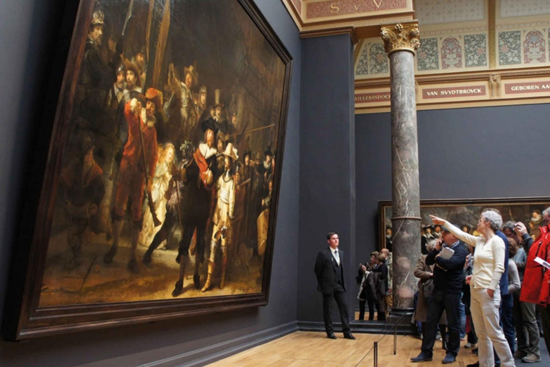 5-Hour Rijksmuseum Skip-the-Line & City Tour