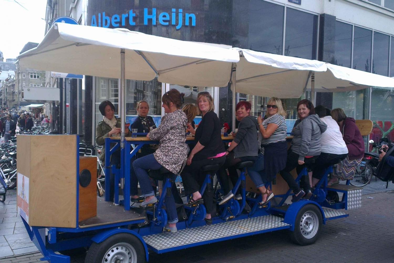 Amsterdam 1.5-Hour Private Prosecco Group Bike