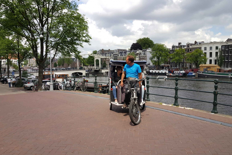 Amsterdam 1-Hour Rickshaw Tour