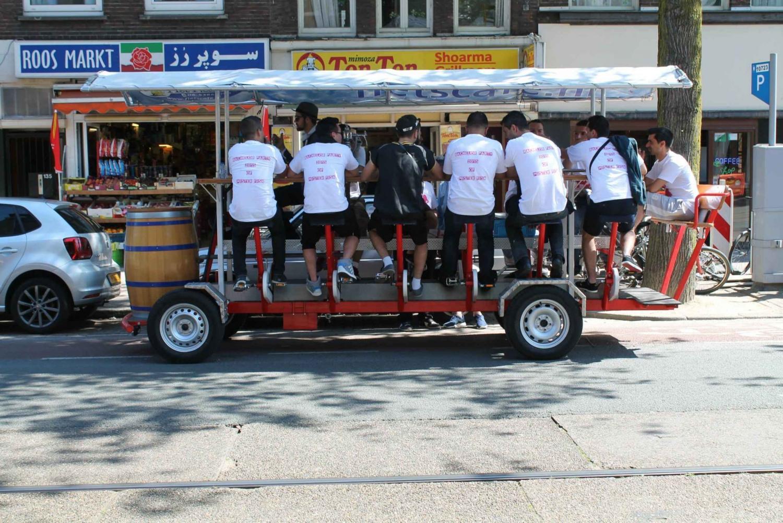Amsterdam Beer Bike Bar Crawl