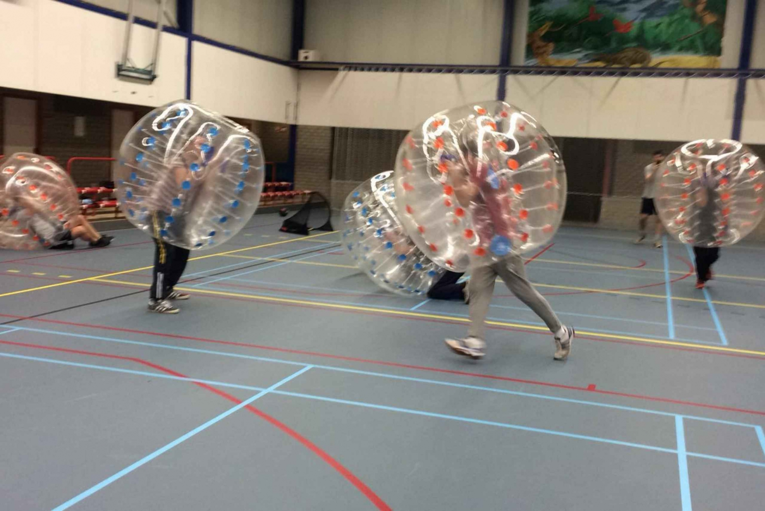 Amsterdam Bubble Football: 1-Hour Outdoor Game