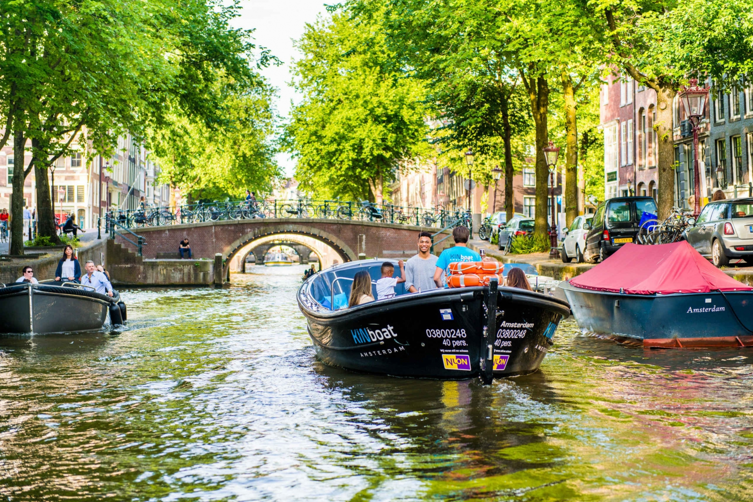 Amsterdam Canal Cruise by Small Open Boat from Rijksmuseum
