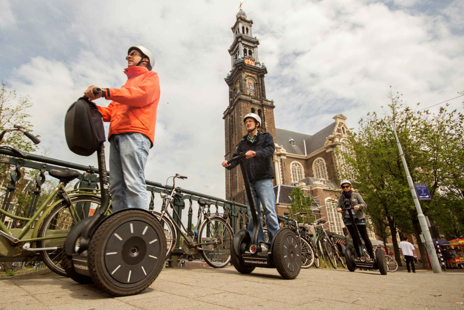 Amsterdam City Sightseeing Segway Tour