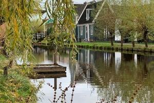 Amsterdam: Countryside Bike Tour and Zaanse Schans Windmills