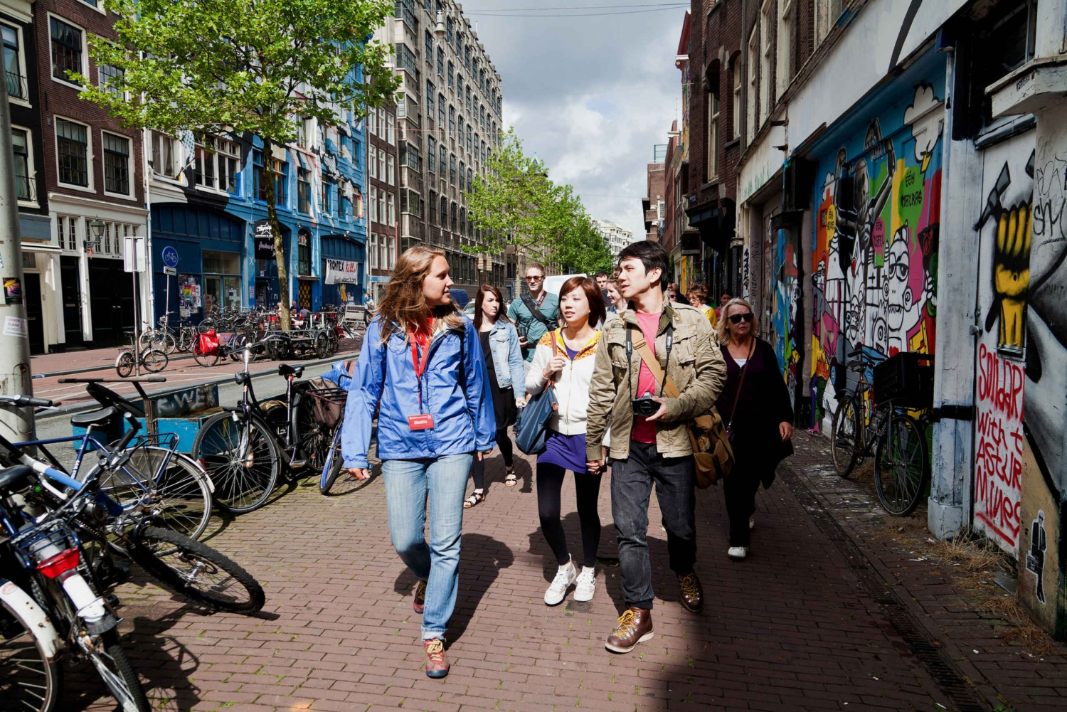 Amsterdam Free Walking Tour with Booking Fee