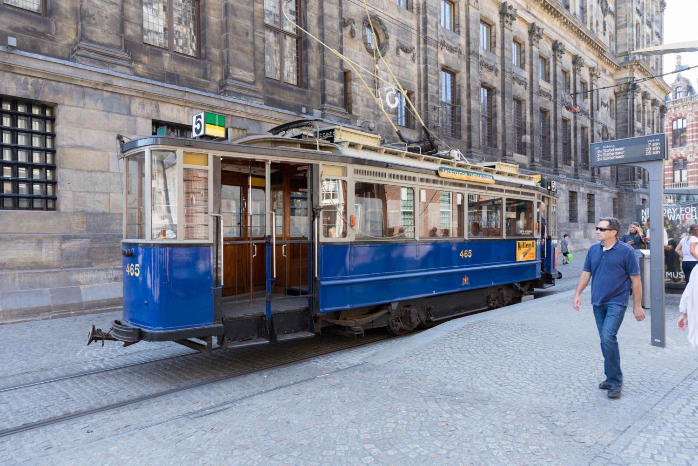 Amsterdam Historical Sightseeing Tram