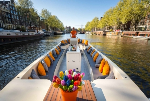 Amsterdam: Private Beer Cruise with Local Skipper