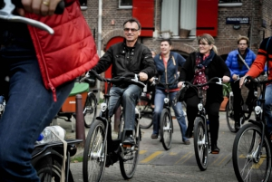 Amsterdam Sight Seeing Bike Tours with Guide