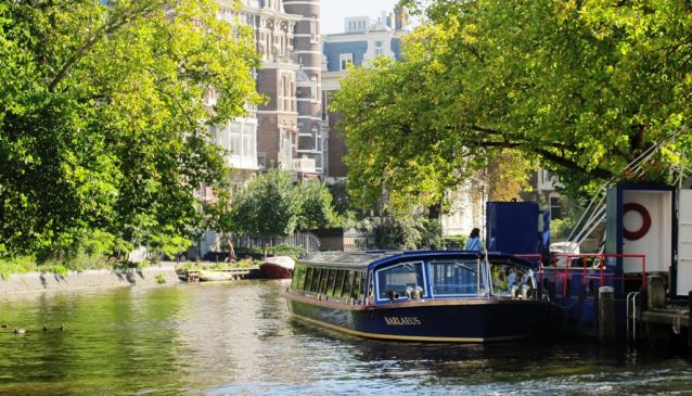 Blue Boat Canal Cruise