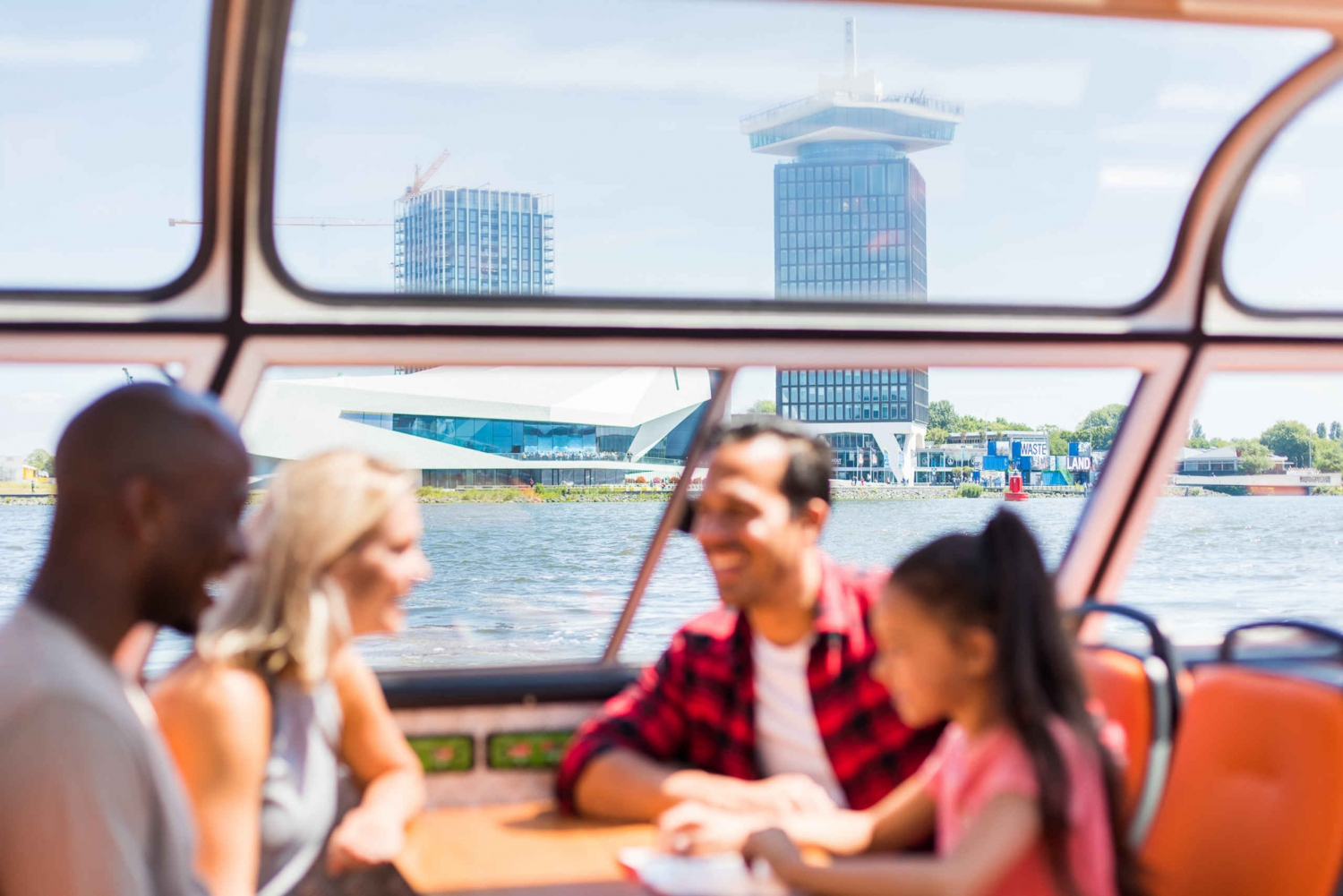 Canal Cruise and A'DAM Observation Deck Ticket