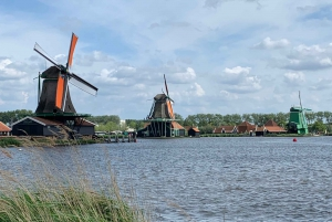 Countryside Bike Tour and Zaanse Schans Windmills