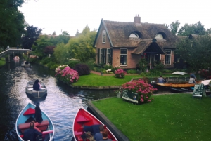 From Amsterdam: Day Trip to Giethoorn by Bus and Boat